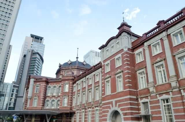 東京駅の外観