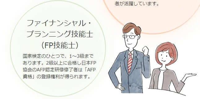 FP(ファイナンシャルプランナー)についての説明