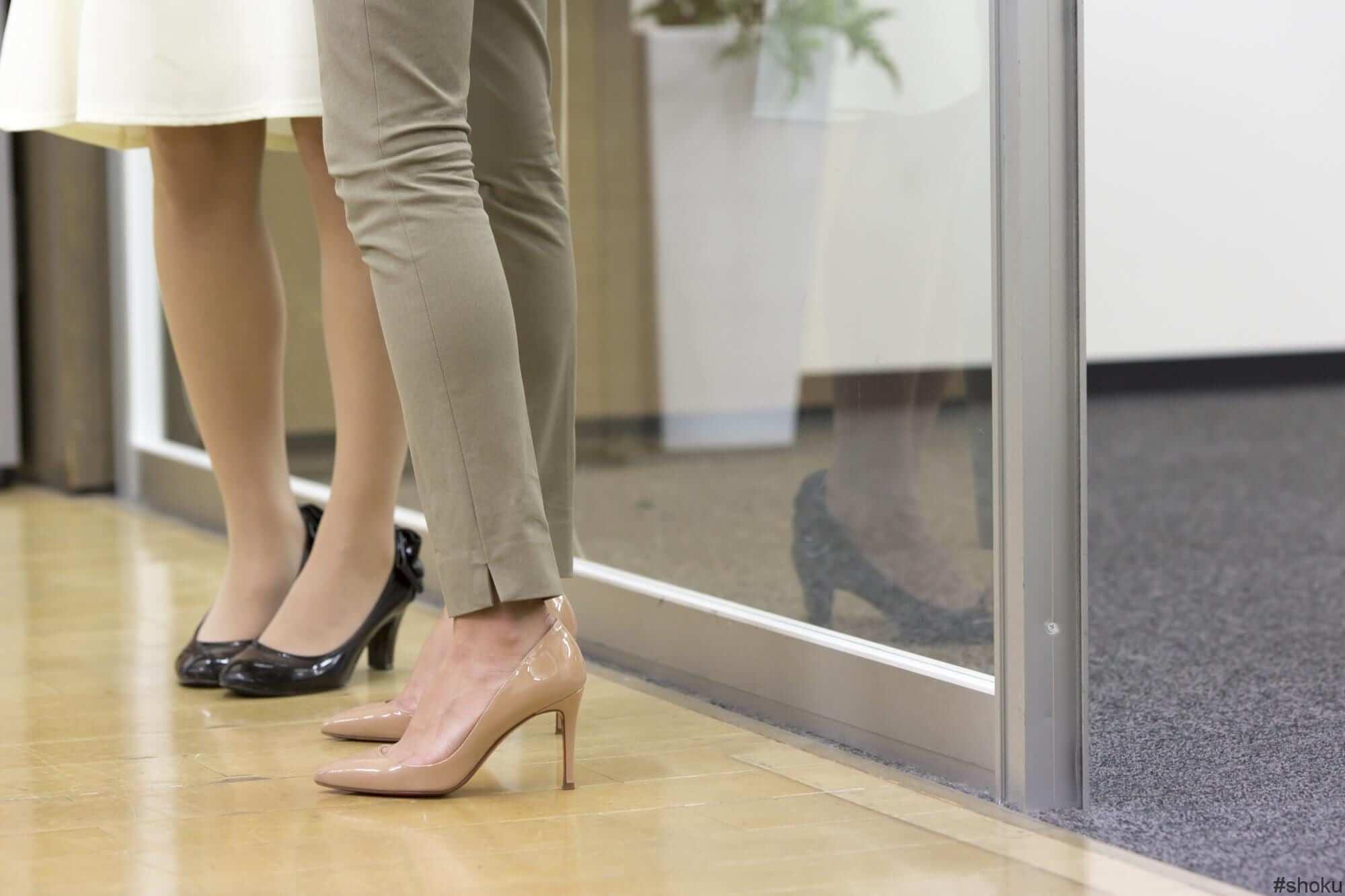 派遣会社に登録する際にTPOに合わせたキレイな靴の見本