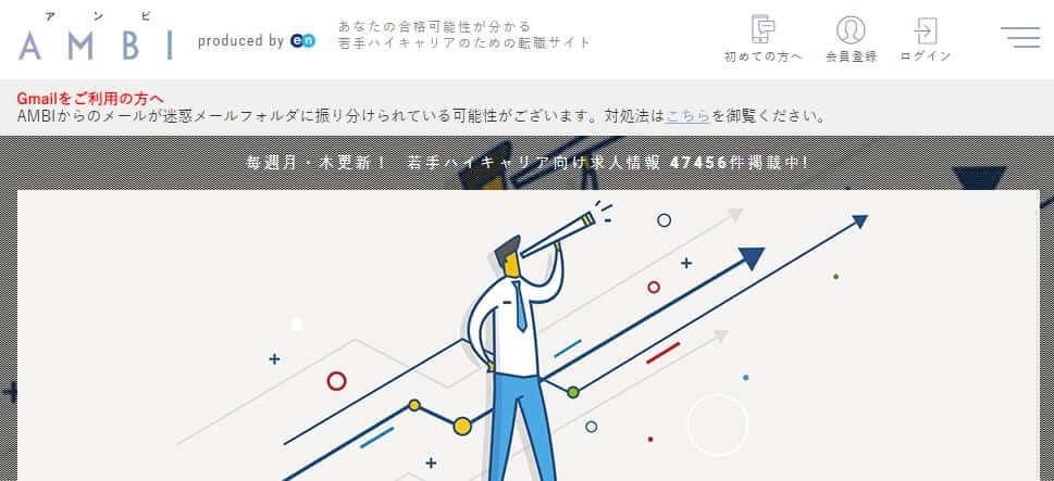 ambiのホームページ画像