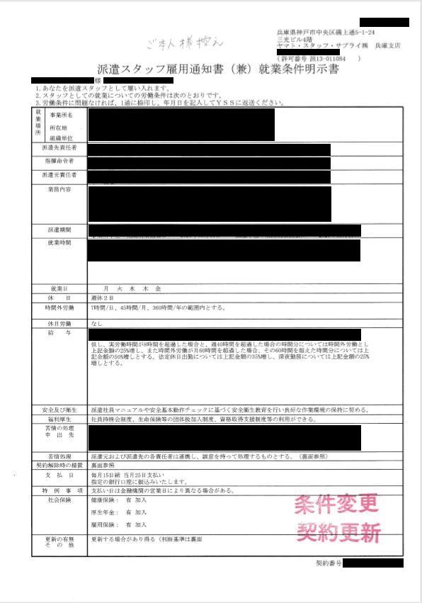 ヤマト・スタッフサプライ株式会社 兵庫支店